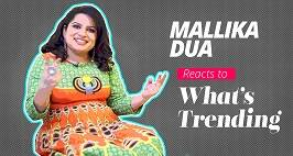 Here's How Mallika Dua Reacts To The Trending News