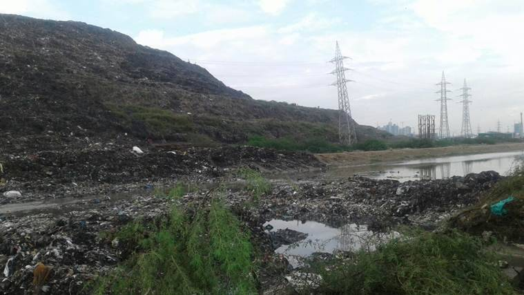 Ghazipur landfill collapse, Ghazipur, Landfill collapse, garbage dump, garbage dump collapse, delhi news, ghazipur garbage,