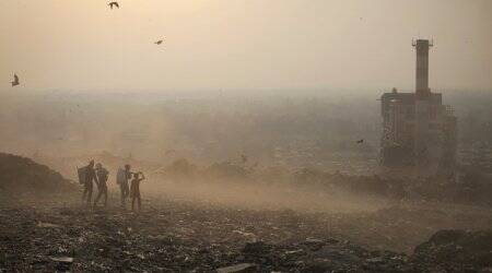 The survival game: At the Ghazipur landfill, children defy death and disease