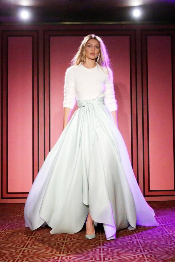 Gigi Hadid, Brandon Maxwell, New York Fashion Week, NYFW