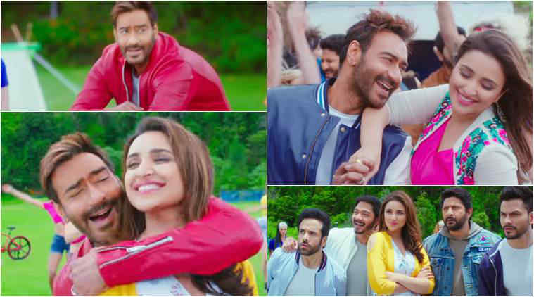 golmaal again, ajay devgn, parineeti chopra, golmaal again new song, Maine Tujhko Dekha,