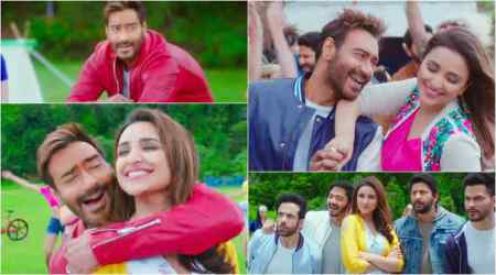 Watch Golmaal Again song Maine Tujhko Dekha: Ajay Devgn woos Parineeti Chopra with his own hit number Neend Churayi Meri
