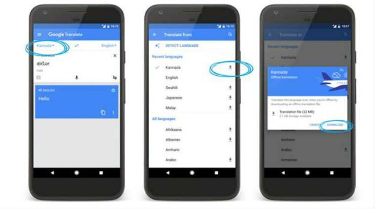 Google Translate adds new features for Indian language users