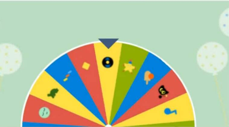 Google 19th birthday Surprise Spinner doodle: How to play games ...