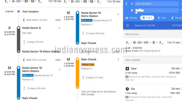 Google Maps, Google Maps India, How to use Google Maps, Google Maps in India, Google Maps India features, Google Maps new features, Google Maps features India, Google Maps Metro data
