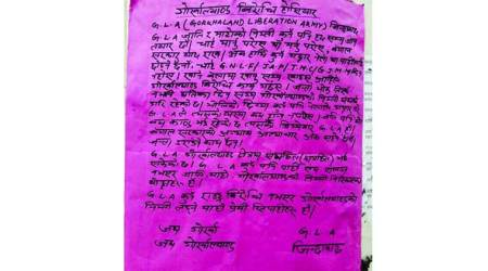 'Gorkhaland army' posters say it was behind all IED blasts