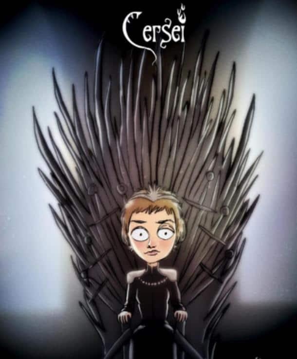 game of thrones, got, got season 7, got s7, game of thrones cartoons, got cartoons, tim burton, game of thrones illustrations, jon snow, daenerys, night king, got cartoons instagram, indian express, indian express news