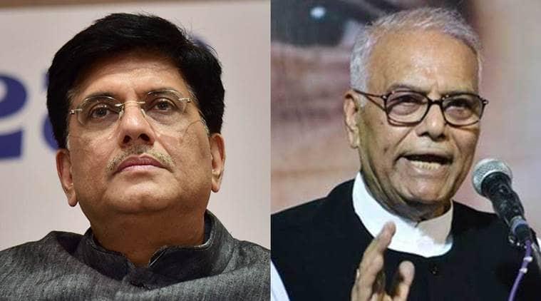 Yashwant Sinha, BJP, Piyush Goyal, Indian Economy, Yashwant Singh on BJP, Yashwant Singh on economy, Yashwant Sinha article, India news, Indian Express