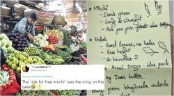 woman's grocery list for husband viral, woman's viral grocery list for husband, woman gives husband hilarious grocery list funny, woman's hilarious grocery list viral, indian express, indian express news