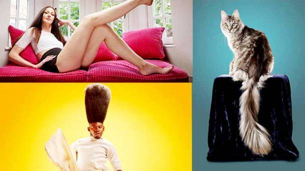 Longest legs to the tallest cat: Some of this year's Guinness World Records makers