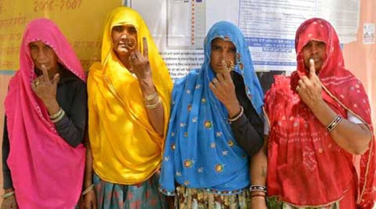 women voters news, gujarat assembly elections news, elections news, indian express news