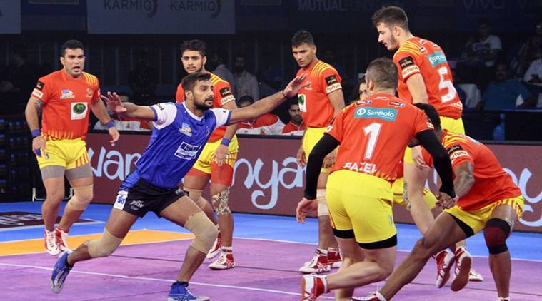 Haryana Steelers Defeated Gujarat Fortunegiants (36-42)