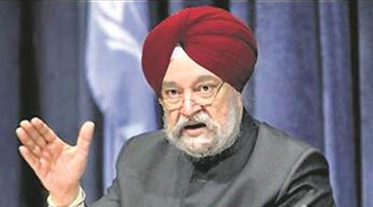 Cabinet Reshuffle, Narendra Modi, Hardeep Singh Puri, Modi Council of Ministers, Modi new Cabinet, India news, Indian Express, Indian Express News