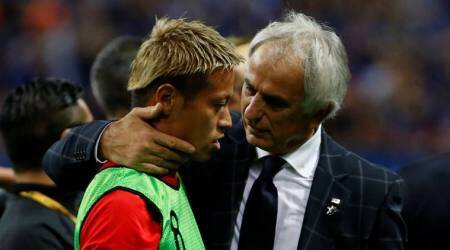 Japan can be World Cup challengers, not tourists in Russia, says coach Vahid Halilhodzic