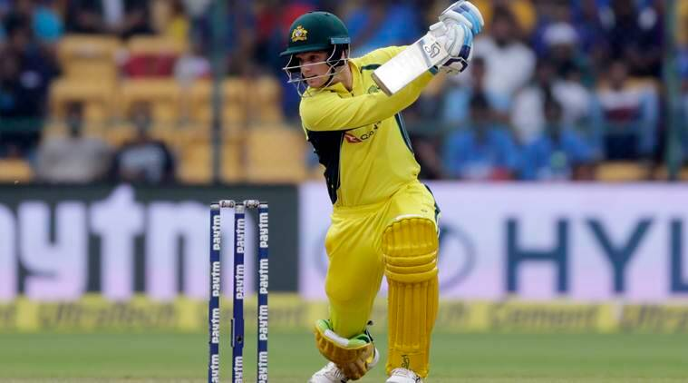 Peter Handscomb, india vs australia 4th odi, ind vs aus 4th odi, shikhar dhawan, ashton turner, peter handscomb century, cricket news, sports news, indian express