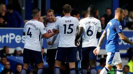 Harry Kane double sets up 3-0 win for Tottenham Hotspur against Everton