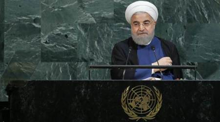 Iranian President Hassan Rouhani, Hassan Rouhani, Iran Nuclear Deal, Nuclear Deal, United Nations, World News, Latest World News, Indian Express, Indian Express News