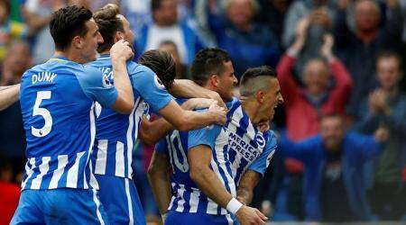 Tomer Hemed's goal gives Brighton and Hove Albion win over Newcastle United