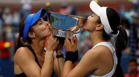 Martina Hingis, Chan Yung-Jan, US Open women's doubles, Jamie Murray