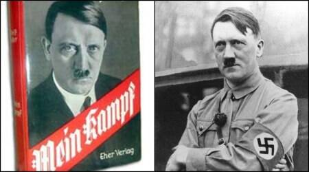 Mein Kampf, Hitler, Hitler autobiography, hitler mein kampf auction, mein kampf auction, Adolf Hitler autobiography, germnay, Adolf Hitler paintings, Adolf Hitler paintings auction, Indian Express, Indian Express news