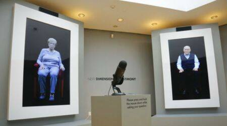 Museum of Jewish Heritage, Holocaust survivors, Nazi concentration camp, New Dimensions in Technology, virtual interview, interactive video, video recordings, Shoah Foundation, Institute for Creative Technologies