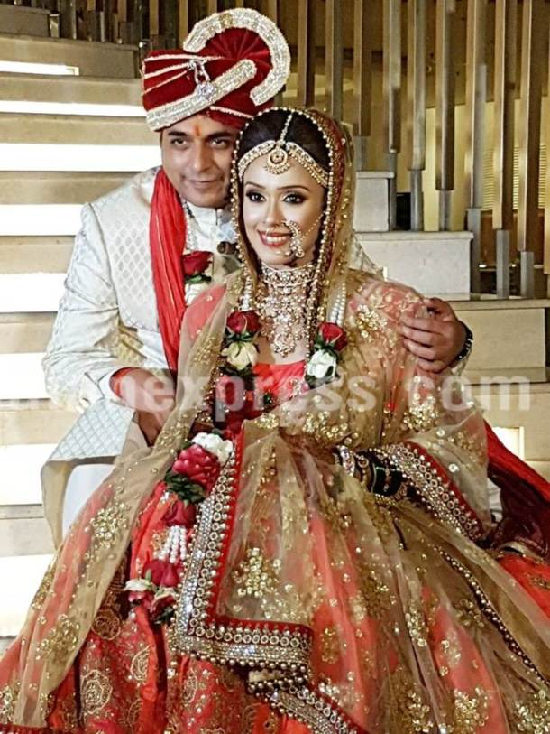 Hrishitaa Bhatt, tv wedding, tv celebs wedding, tv celebs wedding photos,