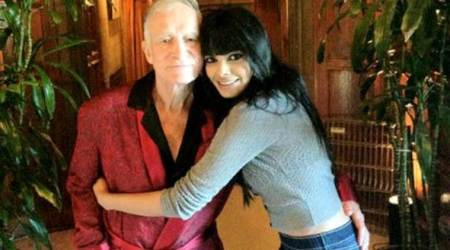 When Sherlyn Chopra met Playboy founder Hugh Hefner