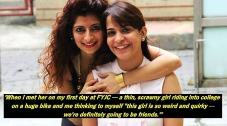 This Facebook post celebrates the beautiful friendship of two strong-willed women from Mumbai