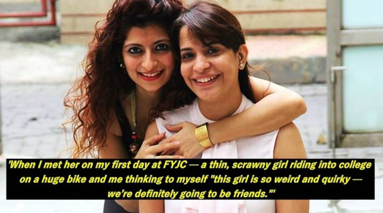 This Facebook post celebrates the beautiful friendship of two strong