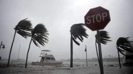 hurricane irma, hurricane irma pics, florida, cuba irma, florida hurricane irma photos, hurricane images, irma images, hurricane irma path, irma update, irma hurricane models, latest hurricane irma pics, indian express