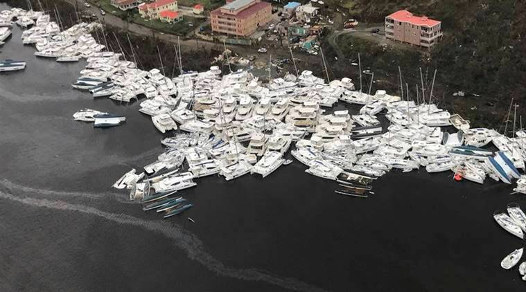 Hurricane Irma, hurricane irma victims, hurricane irma tragedy, Hurricane irma photos, Hurricane in US, Florida, us hurricane victims, Caribbean hurricane victims, Miami, US floods, US weather, world news, indian express