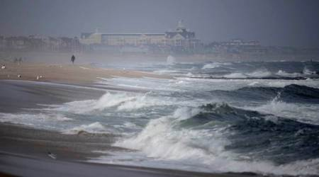 Strong winds in Atlantic create high waves off Indian coasts over 10,000 kmaway