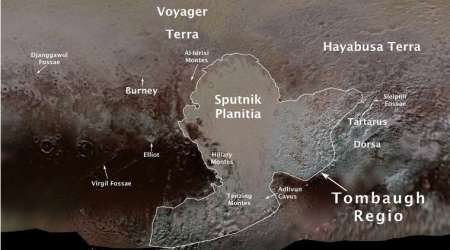 Pluto mountains named after Tenzing Norgay, Edmund Hillary