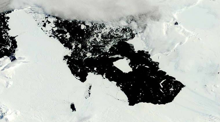 Iceberg the Size of Delaware Is on the Move