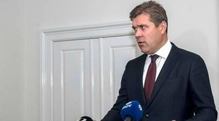 Iceland's PM Bjarni Benediktsson resigns, new election expected on November 4