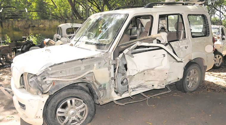 Chandigarh scorpio accident, Chandigarh Police, Accidents in Chandigarh, Chandigarh accident, Chandigarh News,