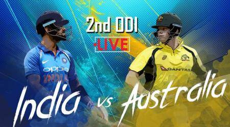 India vs Australia Live Cricket Score 2nd ODI: India rebuild after quick wickets against Australia