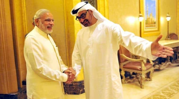 indo-uae ties news, uae news, india news, indian express news