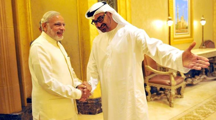 indo-uae ties news, uae news, india news, indian express news