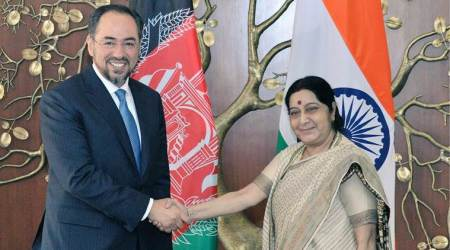 India, Afghanistan committed to overcome challenges posed by cross-border terrorism: Sushma Swaraj