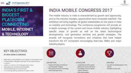 Cellular Operators Authority of India, Indian Mobile Congress, Reliance Jio, Airtel, Vodafone, Idea, Mukesh Ambani, Sunil Bharati Mittal, Kumar Mangalam Birla, Vittorio Colao, Rajan S Mathews, telecom operators, Reliance Jio litigations, tariff war, interconnect usage charges, IUC cut, TRAI, Nokia, Oppo, Vivo, Huawei, IMC 2017