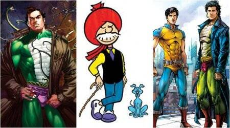 Chacha Choudhary, Nagraj, Super Commando Dhruva: The league of extraordinary gentlemen