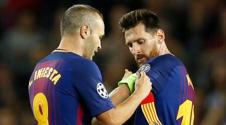 Lionel Messi named as Barcelona's captain after Andres Iniesta's departure