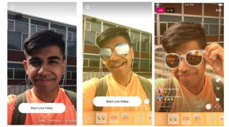 Instagram rolls out face filters for live video: Here's how to use