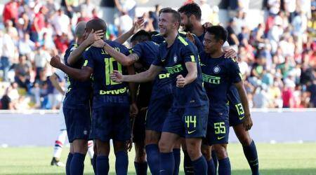 Inter Milan's perfect start ends with 1-1 draw at Bologna