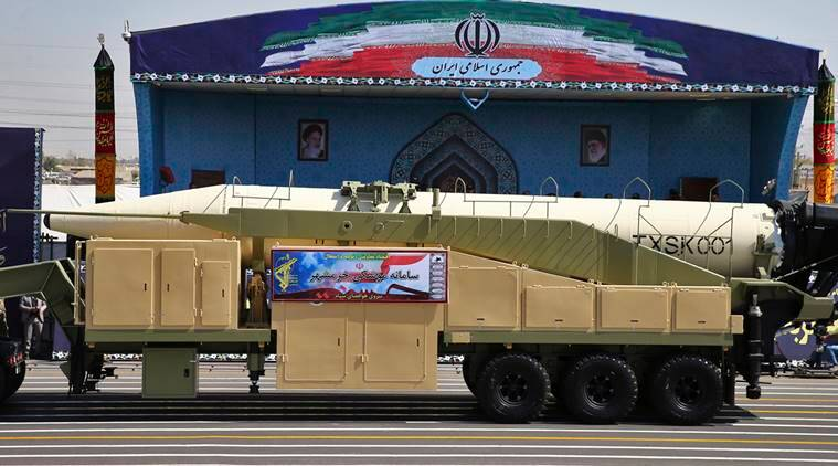 As Trump Mulls Fate Of Nuclear Deal, Iran Test-Launched A Missile