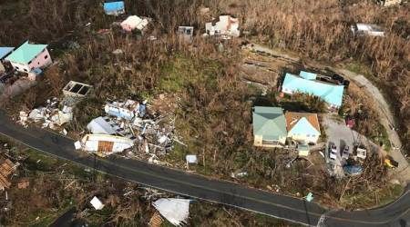 hurricane irma, hurricanes, US Virgin Islands, hurricane irma impact, irma death toll, florida, virgin islands hurricane, indian express, world news