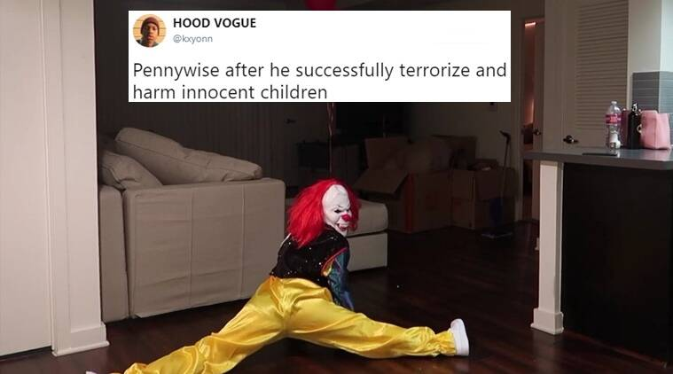 it clown_kxyonn_759 pennywise from it has become a hilarious meme, thanks to the