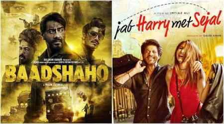 Ajay Devgn's Baadshaho beats Shah Rukh Khan's Jab Harry Met Sejal at the box office