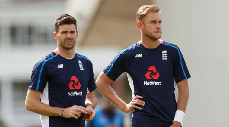 james anderson, england vs west indies, eng vs wi, england vs west indies 3rd test, ashes, cricket news, sports news, indian express